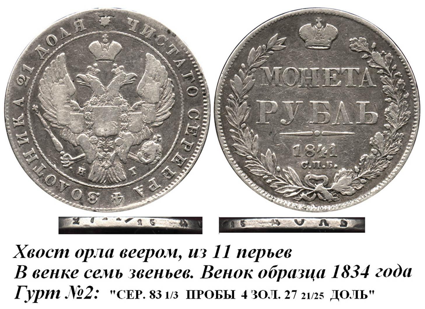 Рубль 1841 СПБ-НГ IV-Г Гурт №2.jpg